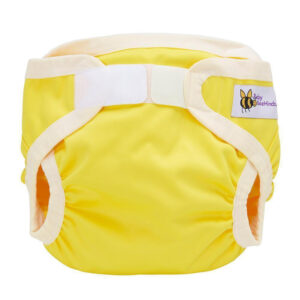 yellow nappy cover