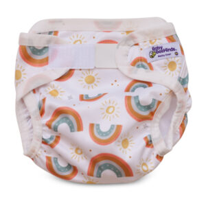 rainbow nappy cover